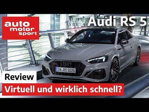 Audi RS5 (2020): Virtuell und wirklich schnell? - Review/Neuvorstellung | auto motor und sport