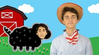Baa Baa Black Sheep | Animal Song | Nursery Rhymes for Children