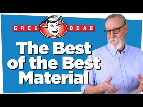 The Best of the Best Material - Learn Stand Up Comedy - Greg Dean ...