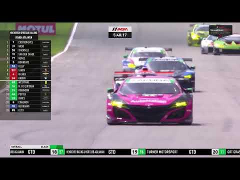 IMSA WTSC ロードアトランタ 決勝レースがまるっと見れるフル動画