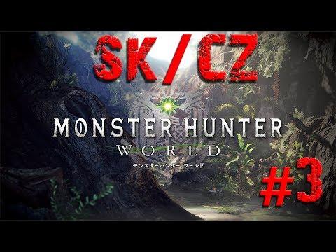 Monster Hunter World - Nový camp! Sk/Cz Let's Play #3
