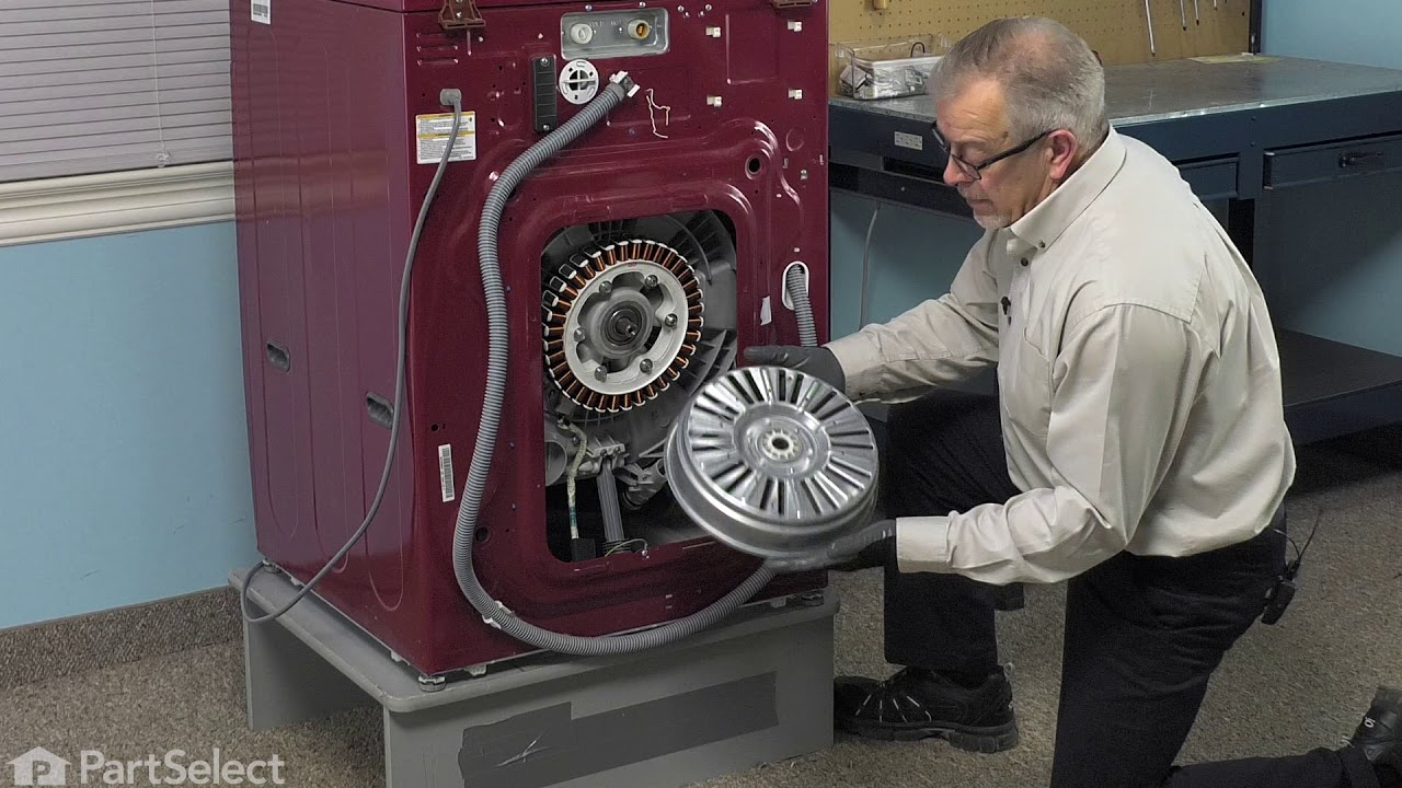 Replacing your LG Washer Rotor Assembly