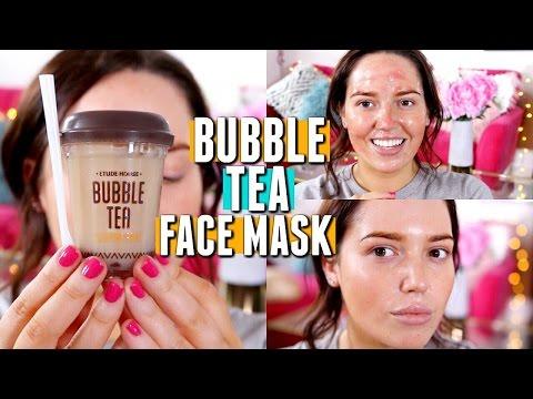 Facial mask na may honey at gatas