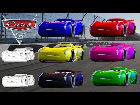 LEARNING Colors CARS JACKSON STORM CHANGE Color - Pages Video For Kids Episode 29