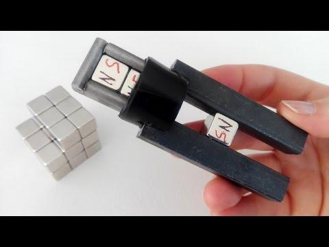Niezwykły magnetyczny uchwyt wykorzystujący ciekawe zjawisko fizyczne