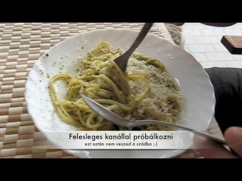 spagetti férgek