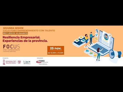 """""""Resiliencia Empresarial. Experiencias de la provincia""""[;;;][;;;]"""