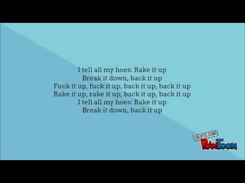 Nicki Minaj && Yo Gotti ~ Rake It Up LYRICS!!!