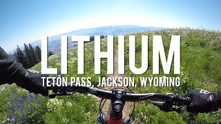 The Lithium trail starts high above the Teton Pass. A mix of sweeping traverses, steep technical ridge riding ending with a super fast park style section. Without a doubt the most amazing non-park descent I've ever done.
