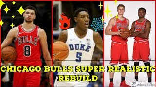 Chicago Bulls SUPER REALISTIC Rebuild NBA 2K19!! How Long Will It Take The Bulls Reach The Finals??