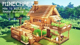 Minecraft: How To Build A Simple Survival House