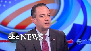 White House Chief of Staff Reince Priebus on President Trump