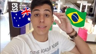 CHEGUEI EM BRISBANE - INTERCÂMBIO NA AUSTRÁLIA !!! 🇦🇺 ‹ Victor Vlogs ›
