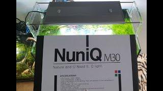 Nuniq WRGB M30 Unboxing i test