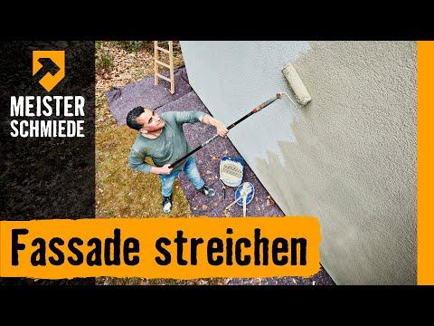 Fassade streichen | HORNBACH Meisterschmiede