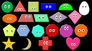 What Shape Is It? Learn Geometric Shapes - The Kids Picture Show (Fun & Educational)
