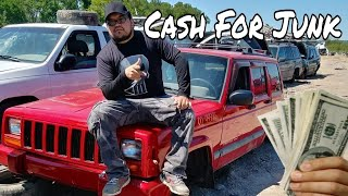 How To Make Money Scrapping Cars / $ CASH FOR JUNK 🚗
