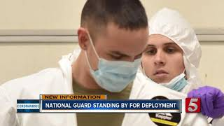 National Guard being deployed during coronavirus outbreak