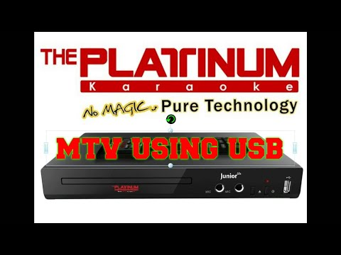 HOW TO ADD MTV OR UPDATED SONGS VIA USB IN PLATINUM KS5 JUNIORLITE/KS10 JUNIOR 2/KS40 KBOX 2