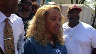Peoria IL Police Execute Edward Russell Jr. cousin TLC singer Tboz shooting him 18 times.
