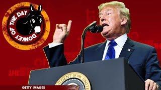 Donald Trump Mocks Christine Blasey Ford After Kavanaugh Testimony