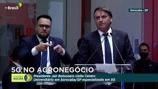 CERIMÔNIA DE APRESENTAÇÃO DA TECNOLOGIA 5G PARA O AGRO