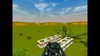 preview picture of video 'Let's Show Rollercoaster Tycoon 3 - Highland Achterbahn'