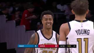 2nd Quarter, One Box Video: Atlanta Hawks vs. Orlando Magic