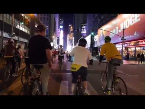 An All-Night Bike Ride Through New York City's History