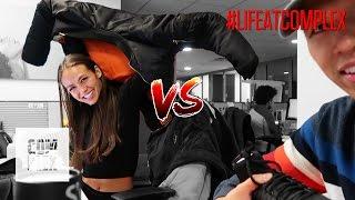 FLEX WARS: TONY vs EMILY OBERG! | #LIFEATCOMPLEX