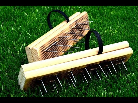 DIY | How To Make A Lawn Aerator Shoes