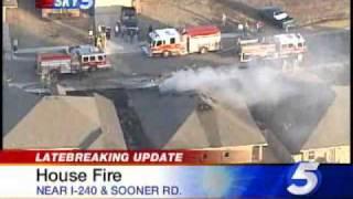 House Fire Near I-240
