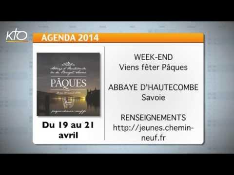 Agenda du 14 avril 2014