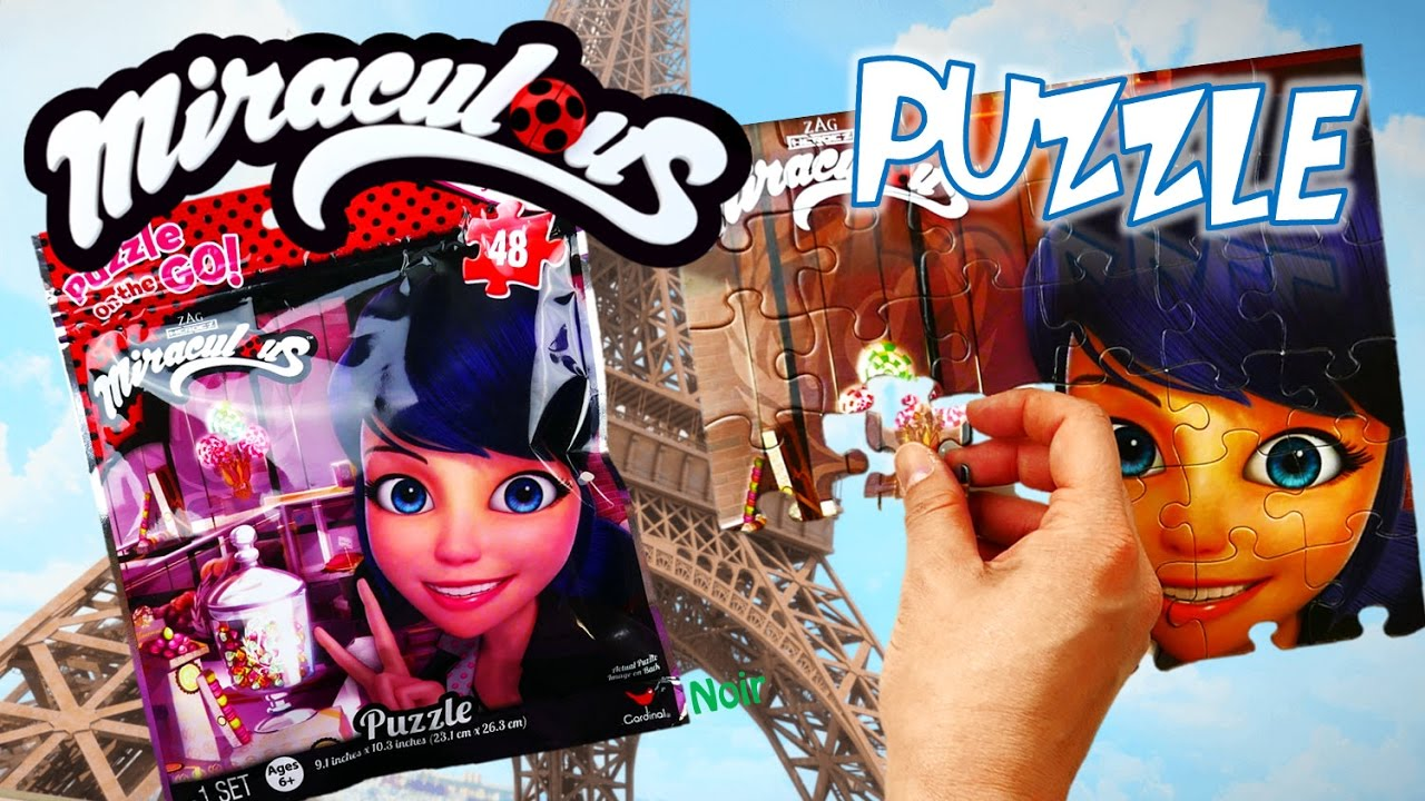 Miraculous Ladybug Marinette Jigsaw Puzzle Games and Puzzles for Kids | Evies Toy House