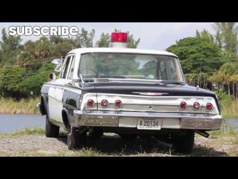 1962 Chevrolet Impala Police Cruiser