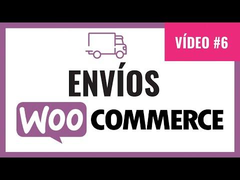 Como configurar envios en woocommerce. Métodos de envíos. woocommerce shipping methods