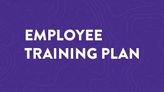How to Make an Employee Training Plan