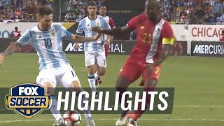 Messi completes his hat trick to make it 4-0 over Panama | 2016 Copa America Highlights by FOX Soccer