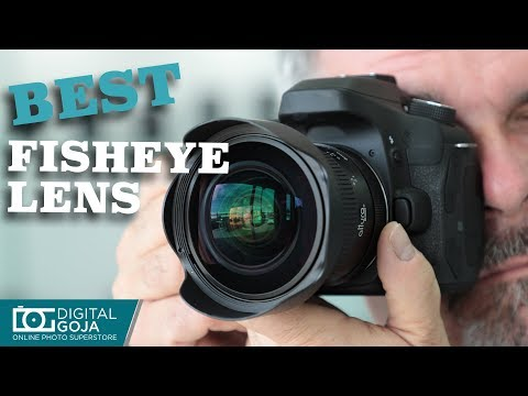 Best 8MM Fisheye Lens under $250 for Canon, Nikon and Sony Cameras by Altura Photo®