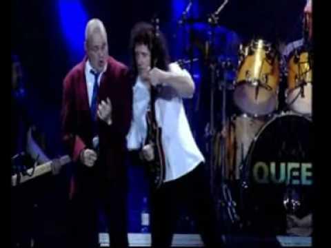Queen  Paul Rodgers Al Murray Cosmos Rockin