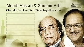Mehdi Hassan & Ghulam Ali Live | Ghazal | For the First Time