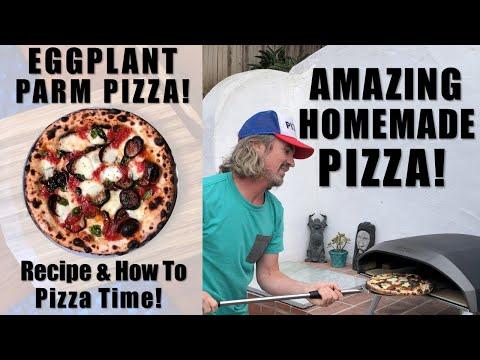 , title : 'EGGPLANT PARM PIZZA | Ooni Koda 16 HOMEMADE PIZZA!