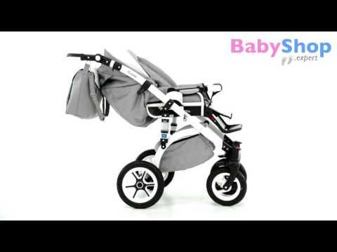 Kombikinderwagen Evado 3in1 mit Kunstleder - babyshop.expert