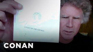 Will Ferrell Is Growing Out His Hair & Watching Bootleg DVDs   CONAN on TBS
