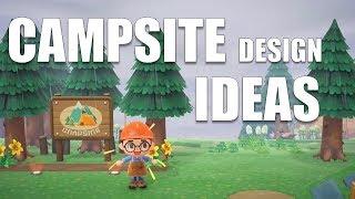 The BEST Campsite Design Ideas! | Animal Crossing New Horizons