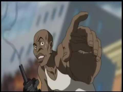 The Boondocks Nigga Moment part 1,2,3