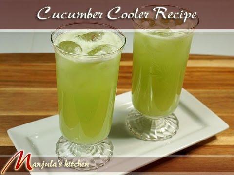 Video Cucumber Cooler Recipe by Manjula