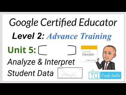 Google Educator Level 2: Unit 5 Training - YouTube