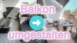 RIESEN FAIL I BalkonMöbel geschrottet  I UNSER NEUES PARADIES