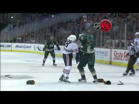 Jake Dowell vs. Shane Hnidy